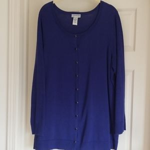 Catherine's Purple Cardigan